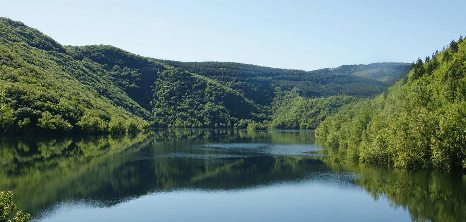 Canoë sur le Lac d'Avène – Orb